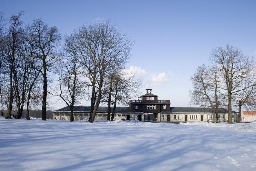 LIUG ÜLE MASSIHAUDADE: kunagine natside koonduslaager on hädas kelgutajatega