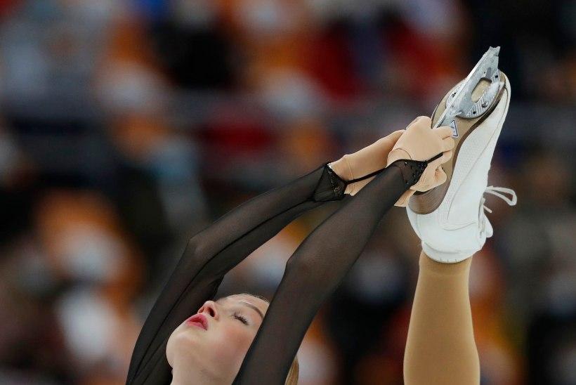 ÄGE | Rahvusvaheline uisuliit tutvustas oma kodulehel uut tõusvat tähte ehk Eva-Lotta Kiibust