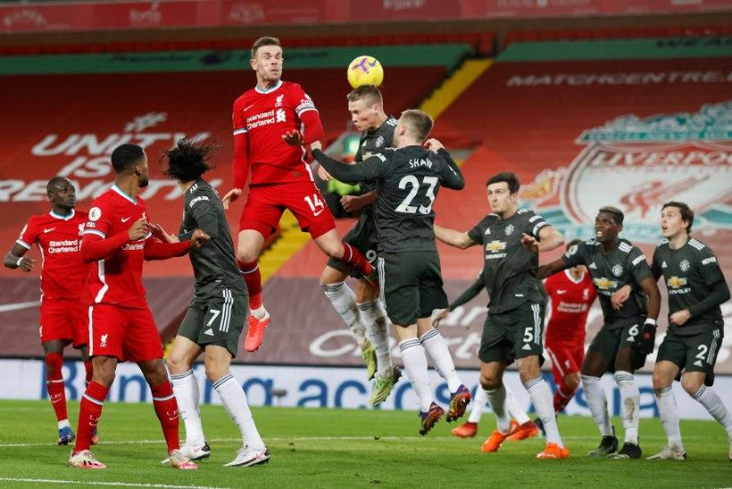 KÕVA SÕNA! Manchester United naaseb Liverpoolist tabeli tipus