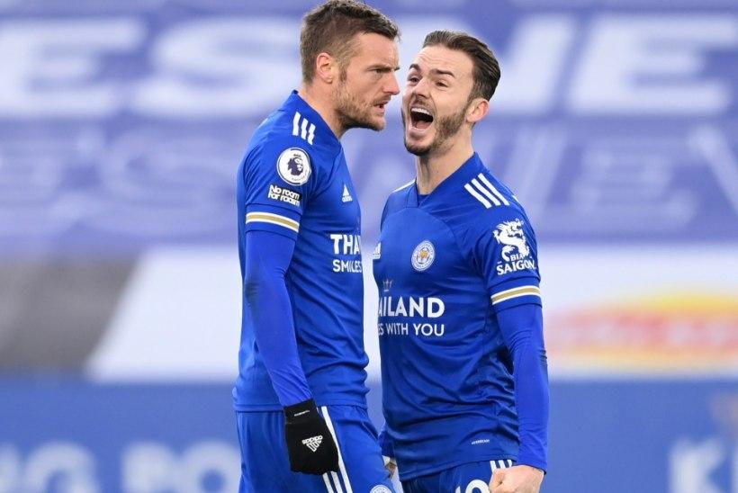 Leicester City alistas Southamptoni ning möödus Liverpoolist