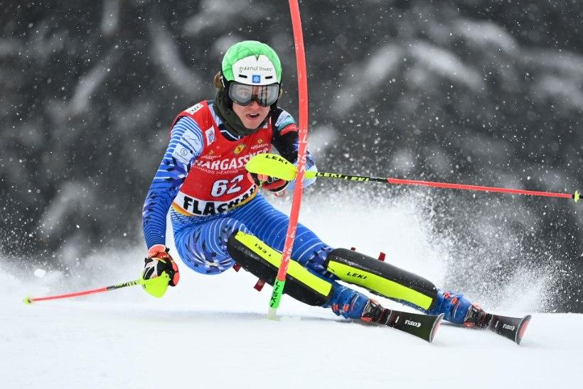 Tormis Laine jäi Austrias MK-etapil esimesest poolesajast välja