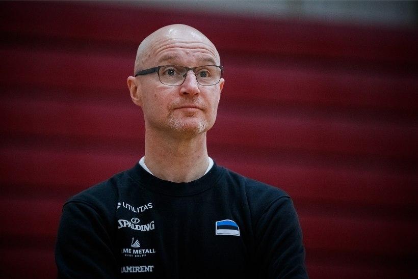 Jukka Toijala avalikustas Eesti korvpallikoondise kandidaatide nimed