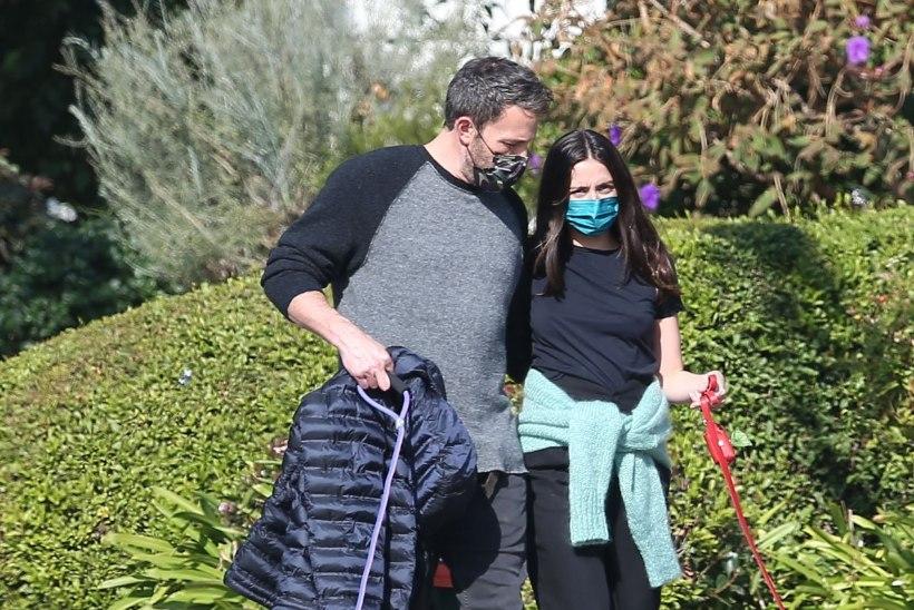 Ben Affleck ja kaunis Bondi-beib Ana de Armas läksid lahku