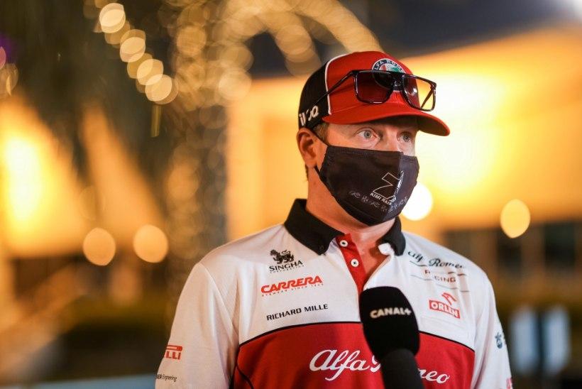 Kimi Räikkönen saatis kolmeaastasele tütrele tulevikuhoiatuse
