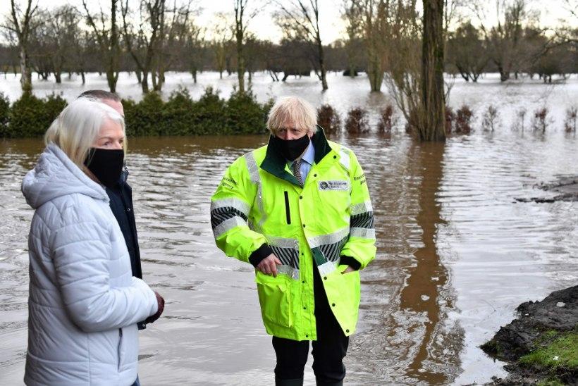 Suurbritanniat räsib torm Christoph, evakueeritud on tuhandeid inimesi