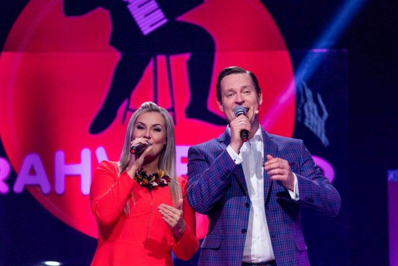 TAAS KOOS: Synne Valtri ja Kalle Sepp astuvad saatejuhtidena ekraanile