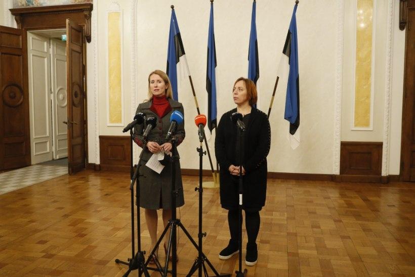 VIDEO JA FOTOD | Kaja Kallas: loodame uue valitsuse kokku saada järgmise nädala alguseks