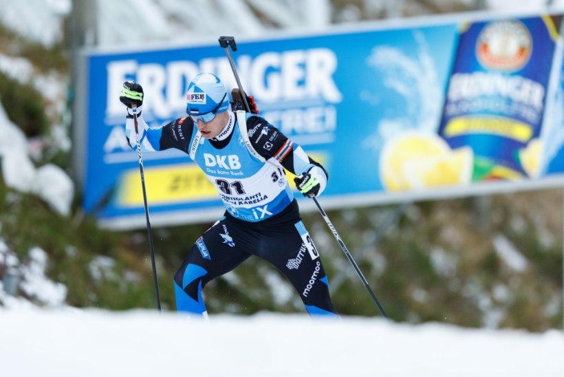 Anterselva tavadistantsi võitis Loginov, Zahkna avas Eesti meeste punktiarve