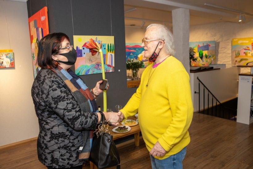 GALERII | Vilen Künnapu eksponeerib uuel näitusel ekspressiivseid ja omalaadseid akrüülmaale