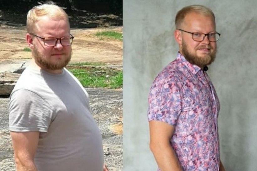PILDID | Kontrollimine: Eesti populaarseim dieet. Victor kaotas 16 lisakilo