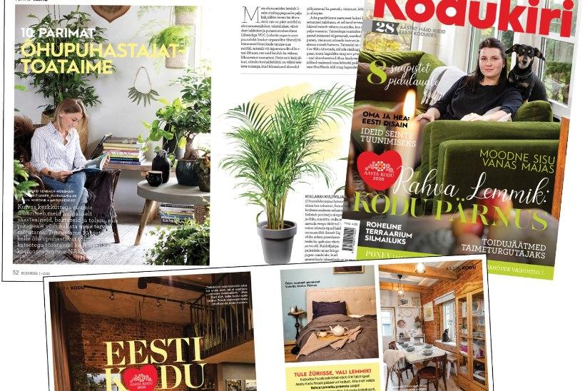 Lugejakirjad   Kodukirja lugejate muljeid jaanuari ajakirjast