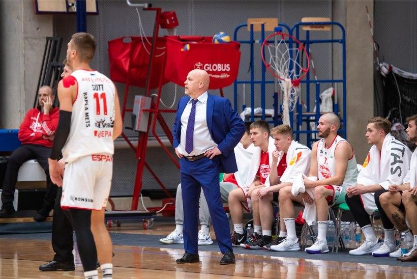 Rapla korvpallimeeskond viibib koroonajuhtumi tõttu isolatsioonis