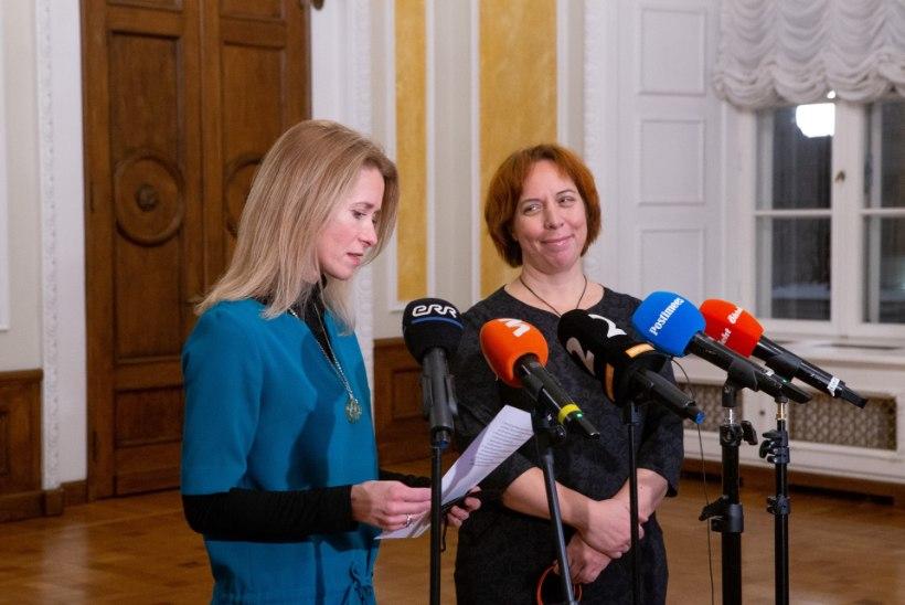 VÕIMUMÄNGUDE KÖÖGIPOOL: Kaja Kallas kaotas ministriportfelle juba läbirääkimiste alguses
