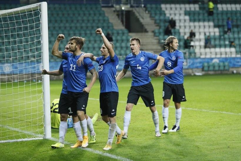 Rootsi kruiis ja Kungsgatan! Eesti rahvusmeeskond kohtub sõprusmängus maailma 20. koondisega
