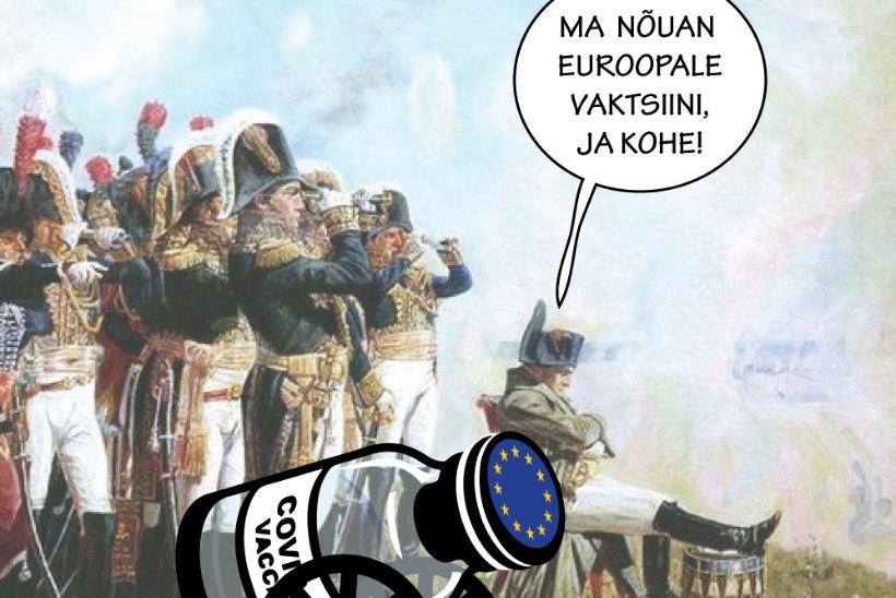 Juhtkiri | Euroliit peab vaktsiinisõjas jõulisem olema