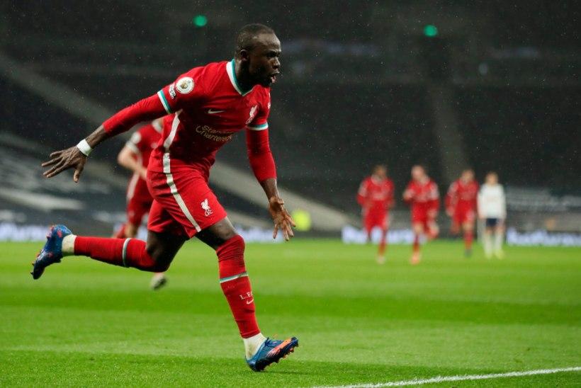 Liverpool lõpetas nukra seeria kindla võiduga Tottenhami üle