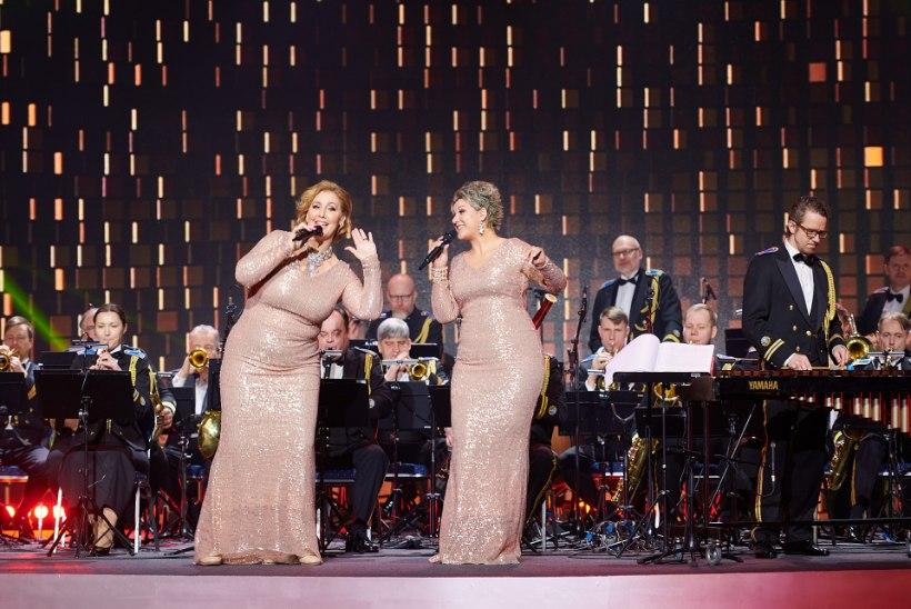 Muusikaauhindade galaõhtu juhid Kaire Vilgats ja Dagmar Oja: see oli esimene katsetus ja häbenema ei pea!