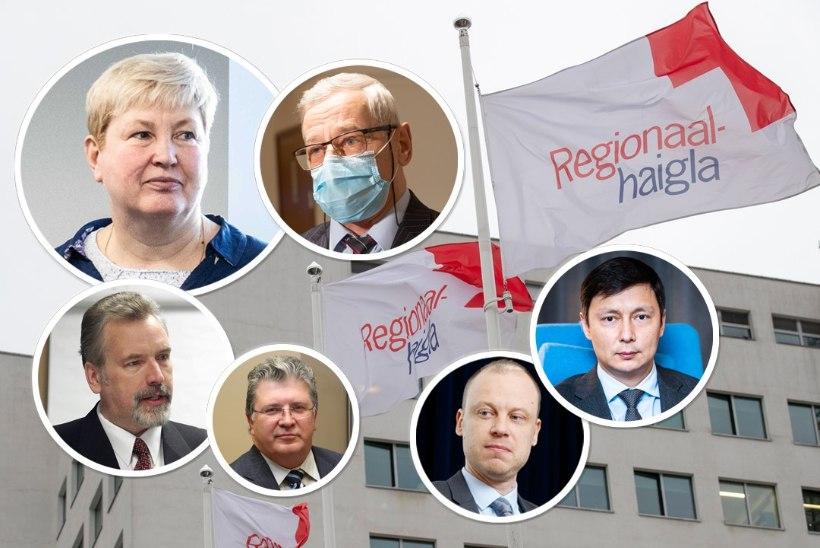 ELIITVAKTSINEERIMINE JÄTKUB?! Kõlvartile ja teistele haigla nõukogu liikmetele pakuti koroonasüsti