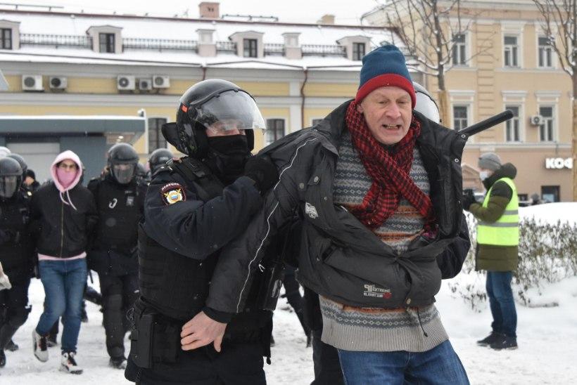 GALERII JA VIDEOD | Karmid ja massilised vahistamised: üle 4000 arreteeritu – vaata, mis toimub Venemaal!