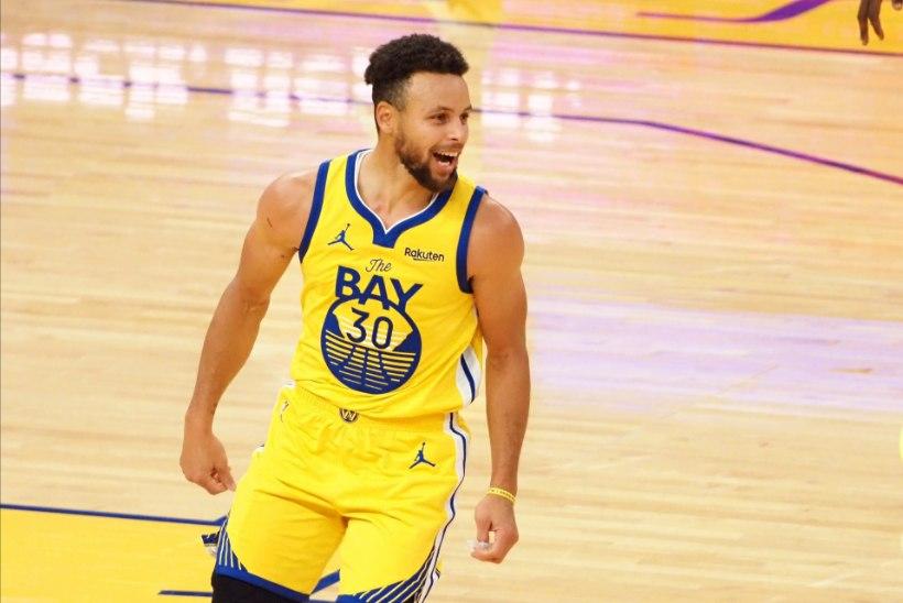 VÄGEV: Stephen Curry püstitas vinge punktirekordi