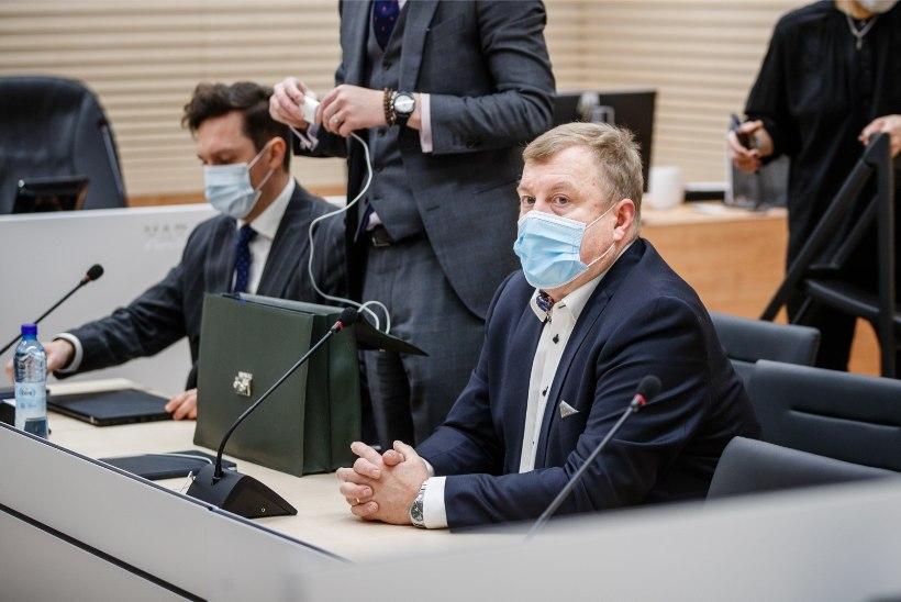 FOTOD KOHTUST | Aivar Mäe nõuab ahistamistrahvi tühistamist