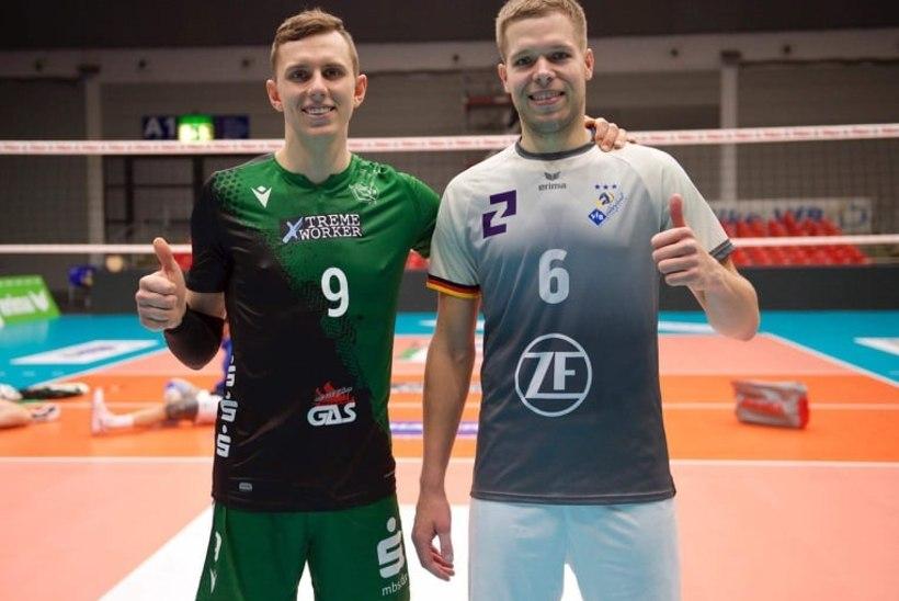 Saksamaal ennast tõestav Eesti võrkpallur: edu saladus on silma- ja ninaoperatsioonid
