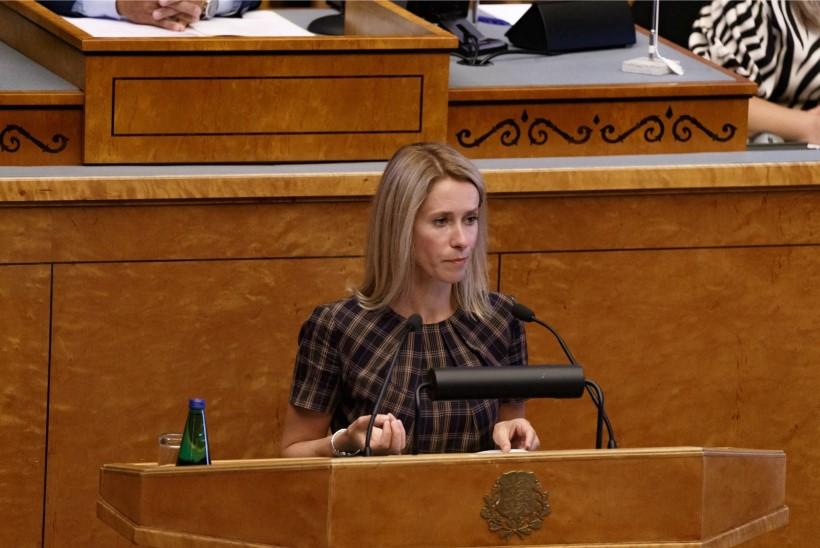 Kaja Kallas: selgus, et põhiseaduskomisjoni esimees ei pea põhiseadust mitte millekski
