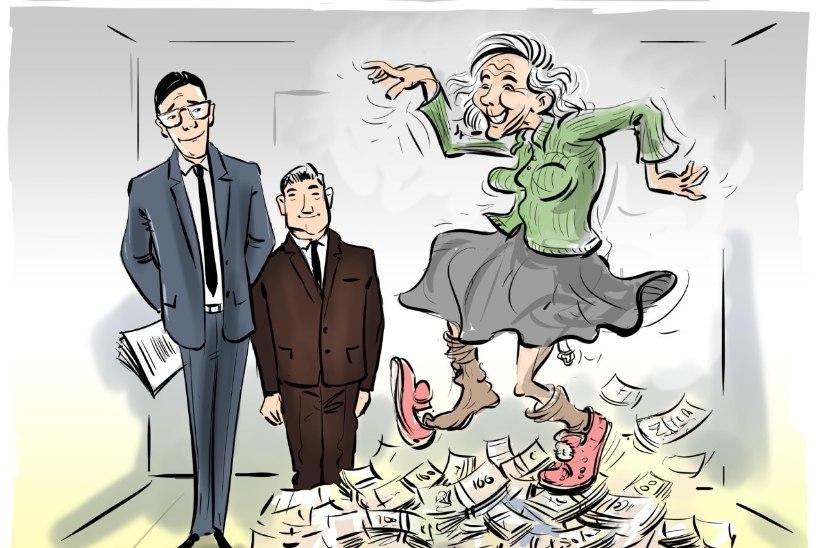 MÜÜA KORTER KOOS ELANIKUGA?! Vanaproua tegi kinnisvaratriki: kodu on alles ja pirakas summa pangas