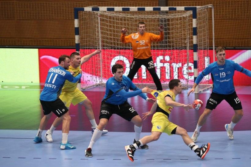 GALERII | Hästi võidelnud käsipallikoondis alistas kodus Bosnia