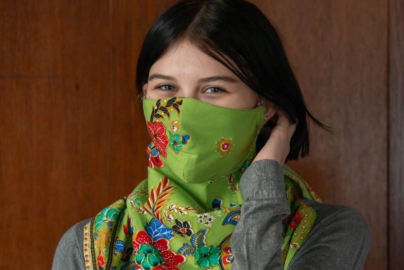 TÄIDAB KAHT EESMÄRKI: praktiline ja mugav rätik-mask