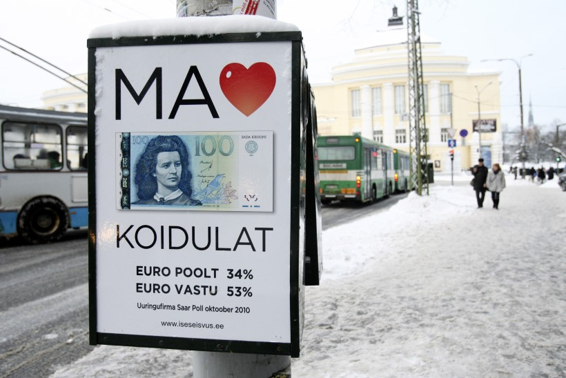 Kas ja kui palju euro hindu tõstis?