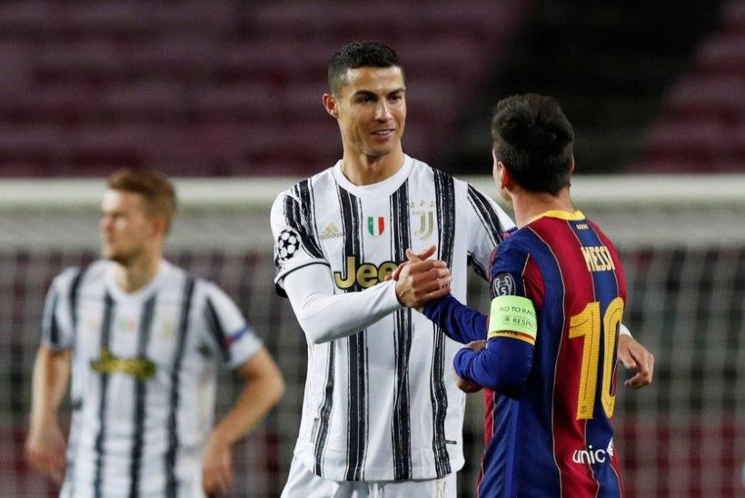 Messi on väärtuselt maailma 97. jalgpallur, Ronaldo alles 131. kohal