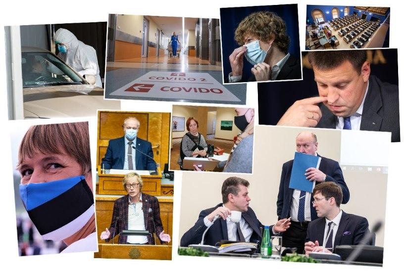VEERAND MILJONIT ARTIKLIT LUUBI ALL! Skandaalitsejad, ministrid või president – vaata, kes olid 2020. aastal uudiste tulipunktis!