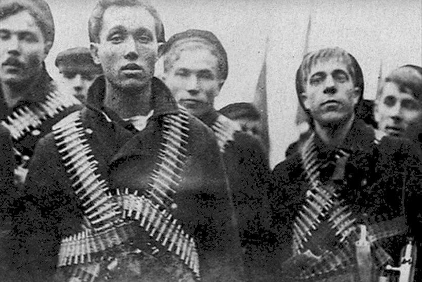 Kes olid ajaloos need revolutsioonilised madrused, kelleks nimetas Anti Poolamets Lauri Läänemetsa?