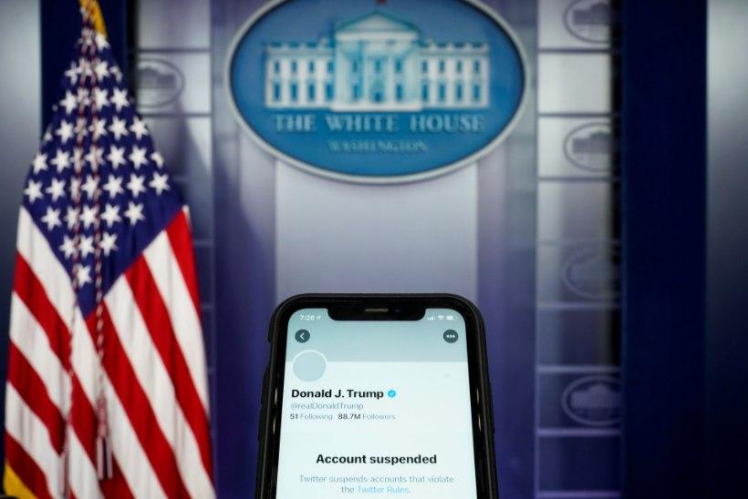 Twitter sulges jäädavalt Donald Trumpi konto