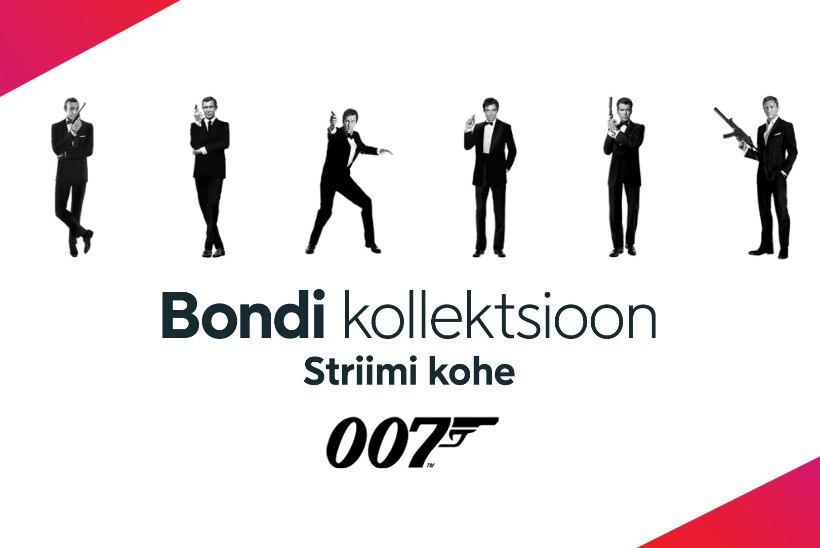 BOND ON TAGASI! Vaata kõiki James Bondi filme – ainult Viaplays!