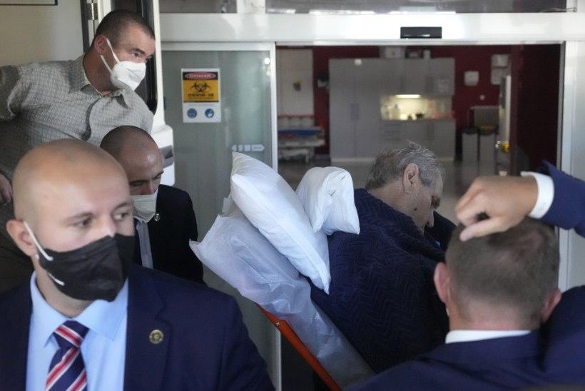 Valimistulemus viis presidendi haiglasse