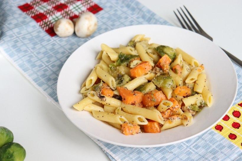 TAIMNE PÄEVARETSEPT   Sügisene pastasalat