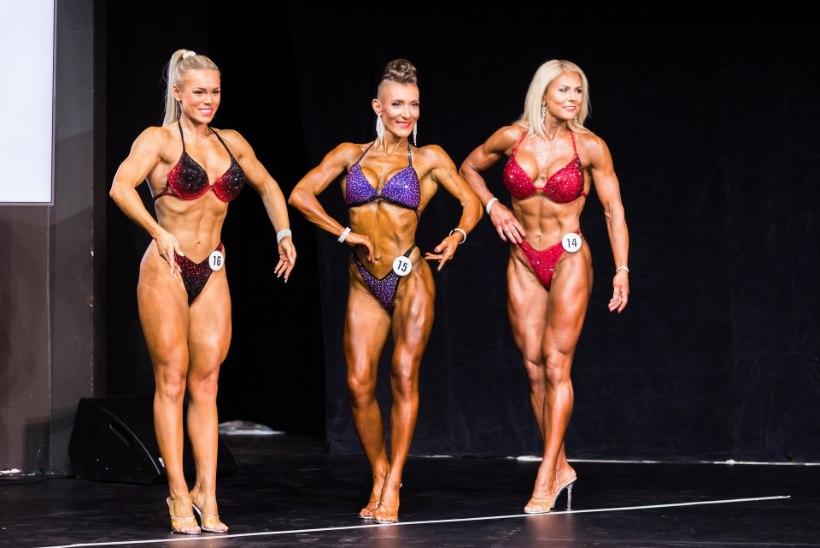 SÄRAV GALERII | Eesti kulturismi ja fitnessi meistrivõistlustel demonstreeriti kauneid figuure ja võimsaid muskleid