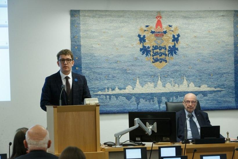 Reformierakonna linnapeakandidaat Kristen Michal   Keskerakonna ainuvõim tuleb murda