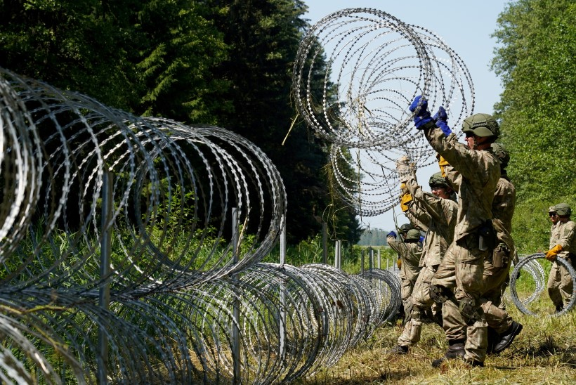 121 inimest ei pääsenud üle Leedu-Valgevene piiri