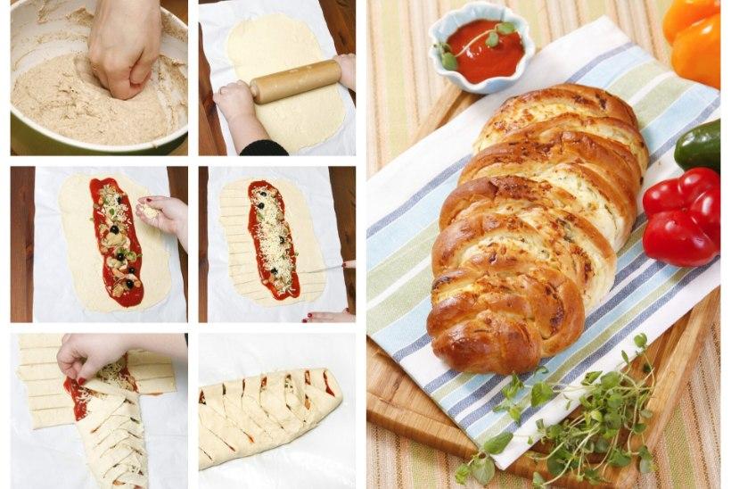 SAMM-SAMMULT | Punutud pitsa ei eelda erilisi kulinaarseid oskusi, maitse aga on imeline