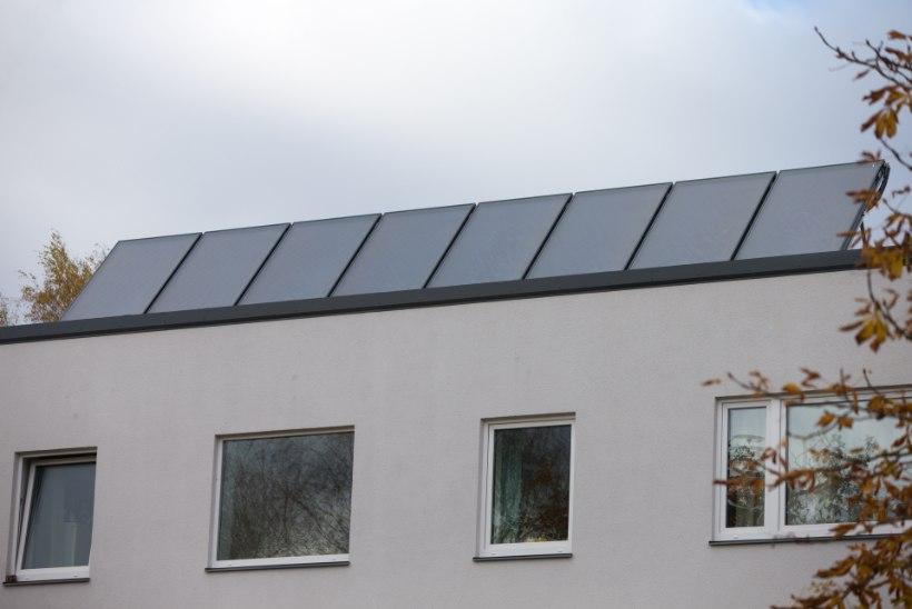 Elekter kortermaja katuselt: ventilatsiooni jaoks jätkub, korteritesse jagamiseks napib