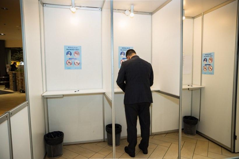 Kohalikel valimistel on hääletanud 28,3% valijatest