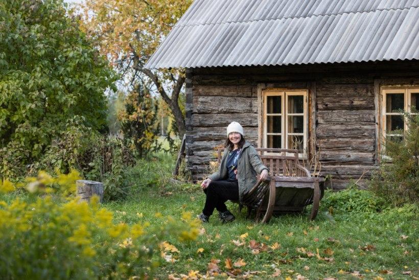 UNISTUSTE KODU! Laulja Piret Tatar taastab Saunja küla vanimat talu