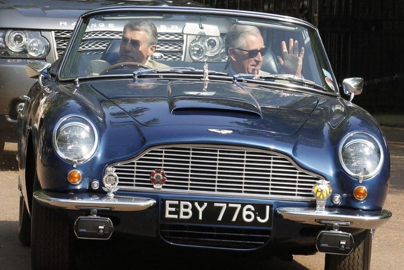 Prints Charlesi auto sõidab juustu ja veini küttel!