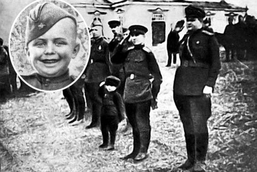 POLGU POEG: sõdurimundrit kandnud kuueaastane poiss võitles idarindel sakslaste vastu