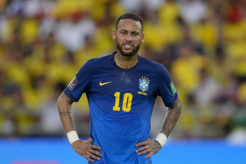 Koondisekaaslased toetavad Neymari: palun jää meiega!