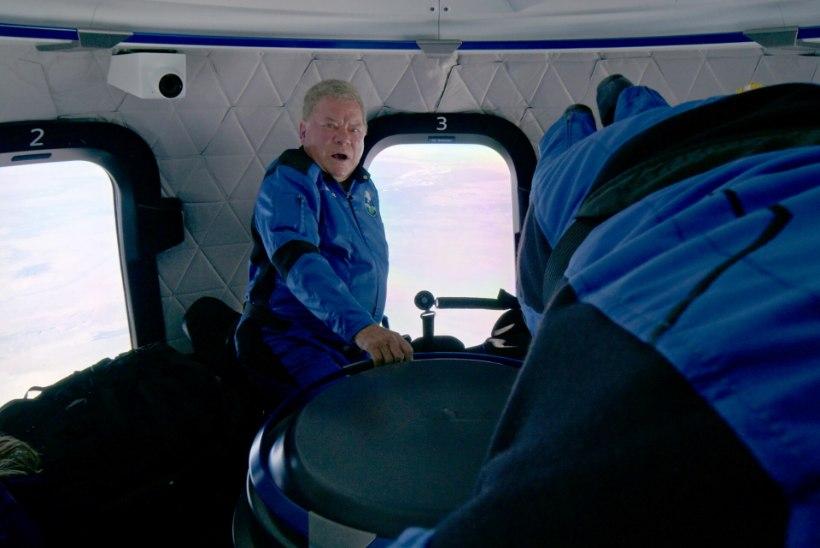 """""""Oh sa poiss... See on kirjeldamatu!"""" 90aastane """"Star Treki"""" täht käis kosmoses"""