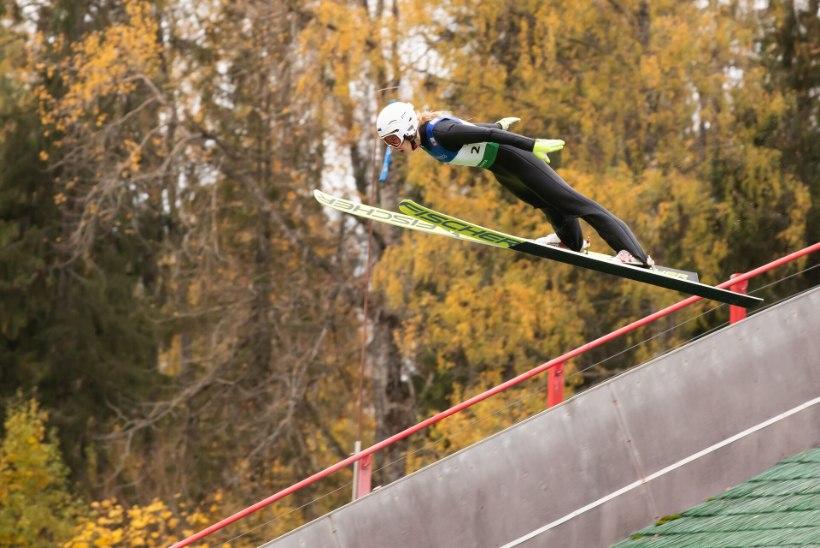 Karjääri madalaimast punktist välja roninud Annemarii Bendi lendab, olümpiarõngad silme ees